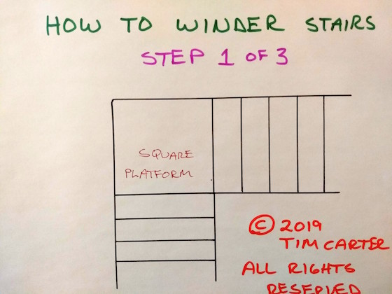 how to winder stairs