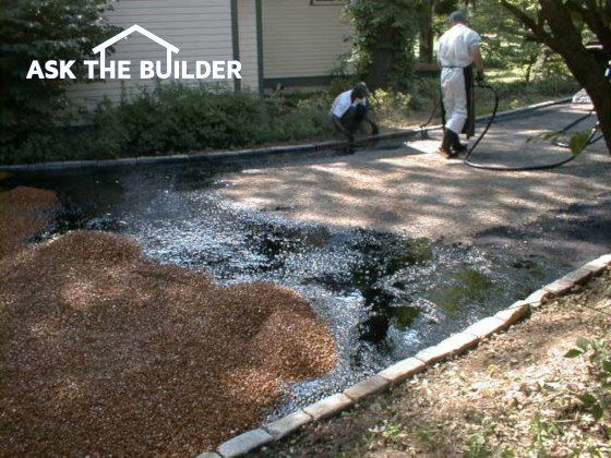 Tar and Chip Driveway | Durable and Colorful