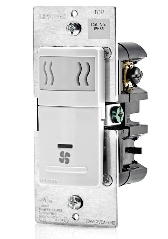 leviton humidity fan switch