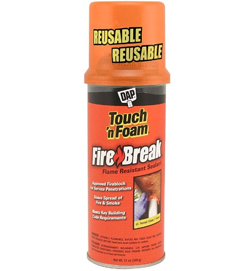 fire foam sealant