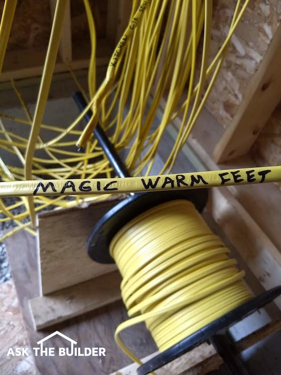 label electrical wires
