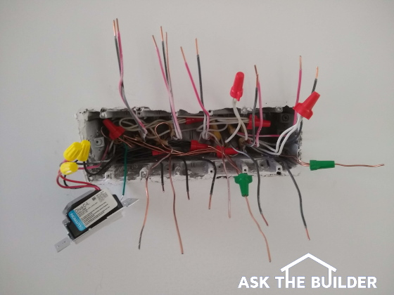 DIY Wiring Gang box