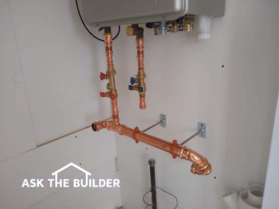 installation noritz boiler