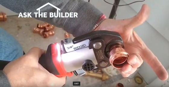 Install Copper Tubing Pipe Tool