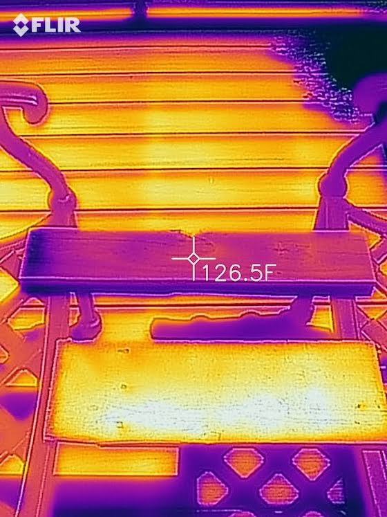 infrared treated lumber photo