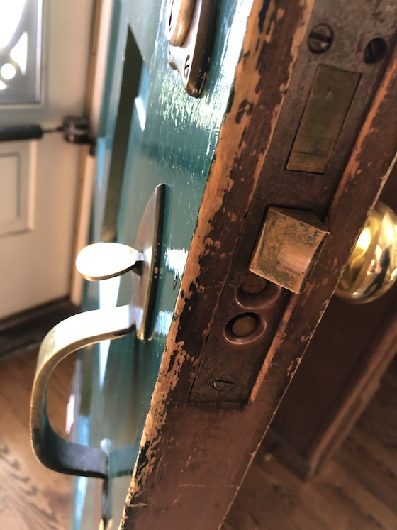 repair old door knob