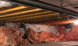 Crawlspace Wall Insulation