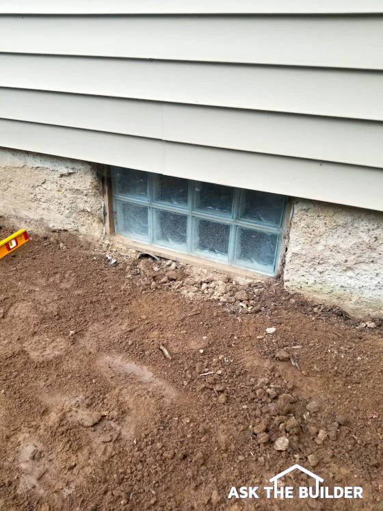 Crumbling Concrete Foundation