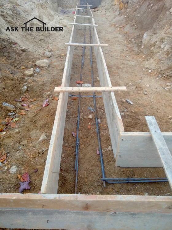 Reinforcing Steel in Footings