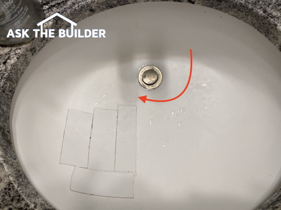 Undermount sink - cracked