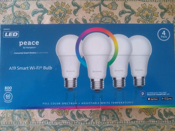 Peace normal smart LED bulbs