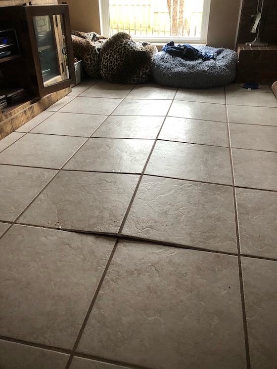 tented tile