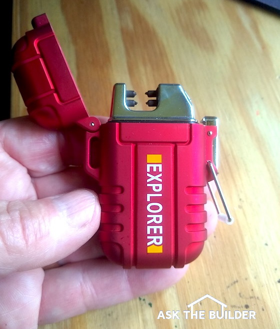 electric lighter open