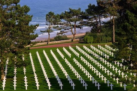 American D-Day cemetery France