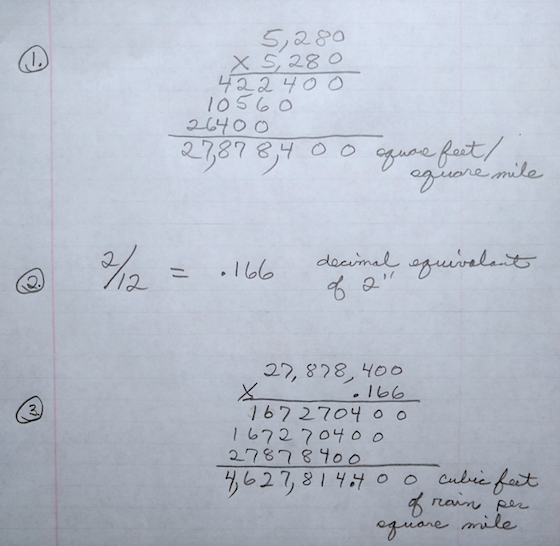 math calculations multiplcation